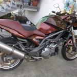 Motorradlackierung