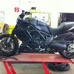 Ducati Diavel umbau beginn Sept.2011