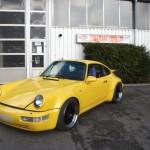 964 Turbo jetzt fehlt nur noch das Emblem auf der Haube