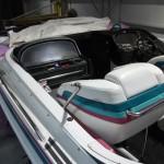 Boot vor der Auffrischung duch Airbrush und Lackierung